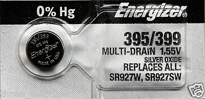 1 New ENERGIZER SR927SW SR927W 395 / 399 1.55V Watch Batteries Aussie Stock