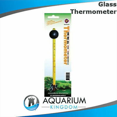 UP Aqua Glass Thermometer 15cm - Aquarium Fish Tank Read Temperature