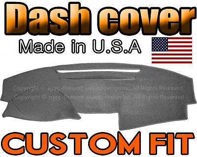 2007-2011  Toyota  Camry  Dash Cover Mat Dashboard Pad /  Charcoal  Grey