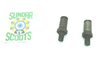 Gp Brake Pivot Bolts/pins Set Of 2.suitable For Lambretta Scooters