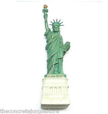 "4.5"" Statue of Liberty Replica Figurine with Copper Tint, New York Souvenir"