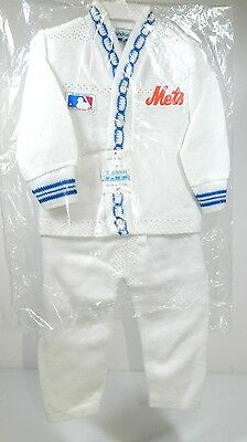 Mets Official Licensee Major League Baseball Infant Set By Brandon Size 12 Month