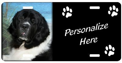 Newfoundland, Lanseer    Personalized Pet License Plate