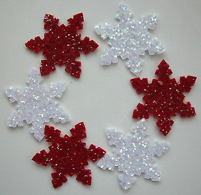 x12 Christmas//Project//Sizzix Die Cut Small Felt Holly Leaves
