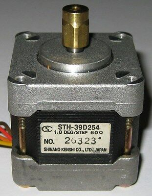 Bipolar Stepper Motor with Brass Collar - 200 Steps / Rev - NEMA 16 - 5 mm Shaft