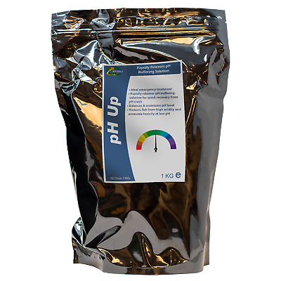 Koi Pond Care HYDRA pH UP 1KG Balance Pond Water pH Level Recovery from pH Crash