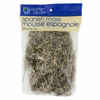 Cemetery Props-Natural SPANISH MOSS-Halloween Party Tombstone Zombie Decorations