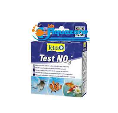 Tetra TEST NO3- (10ml + 10ml + 19ml) ALL WATER * measures nitrate * FREE POSTAGE