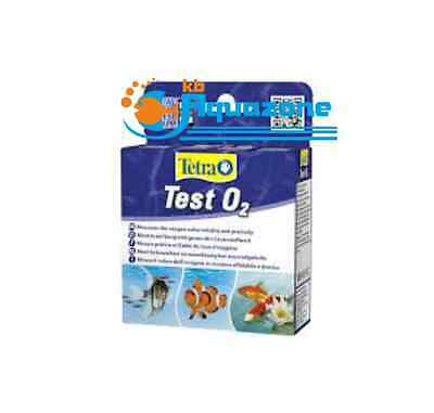 Tetra TEST O2 (2x9ml + 10ml) ALL WATER * measures oxygen value *