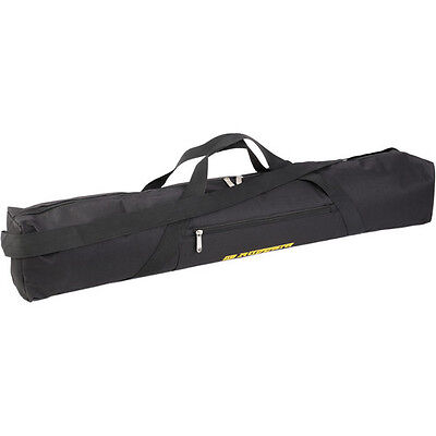 Ruggard Padded Tripod Case (35, Black with Yellow Embroidery)