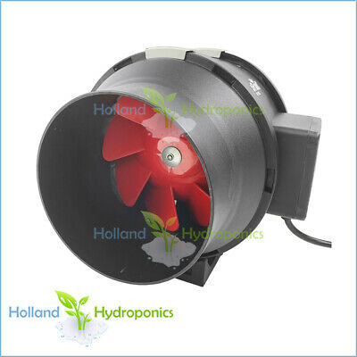 Hydroponic Grow Room Kit 4 inch 2 Speeds Mixed Flow Inline Ventilation Duct Fan