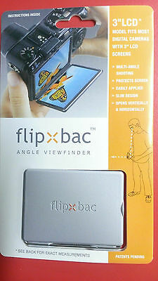 "Flipbac 3"" LCD Angle viewfinder - Silver"