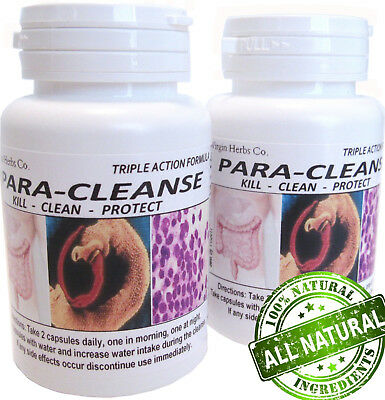 60 Parasite Cleanse DETOX Liver Colon Yeast Blood KILL Killer Natural