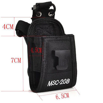 MSC-20B Multi-function Nylon Case Bag for Baofeng Kenwood Motorola Two-way Radio