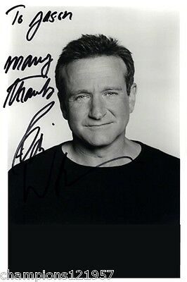 Robin Williams ++Autogramm++ ++Hollywood Superstar++2