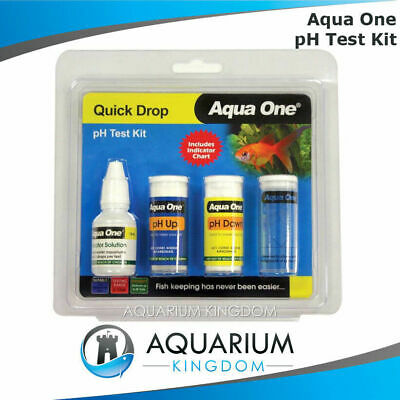 Aqua One pH & Adjuster Test Kit Decrease Increase pH Levels Aquarium Fish Tank