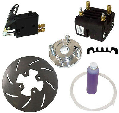 New Mcp Rear Karting Brake Kit,1.25 Axle,master Cylinder,caliper,7.1 X .25 Rotor