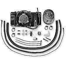 Jagg Horizontal Low-Mount Fan-Assisted Kit 2009-14 Flh Models In Black Harley