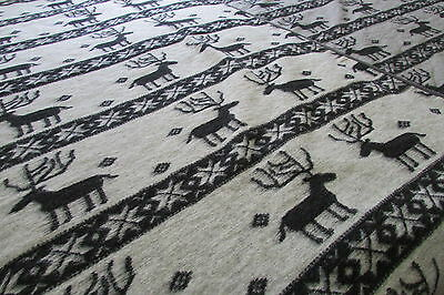 Wolldecke 100% Wolle, Tagesdecke, Blanket  Made in Germany, 150x200