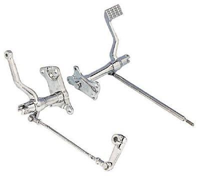 "Zodiac 056212 Forward Control Kit 2"" Extended CHROME Suit XL Sportster 86-03"