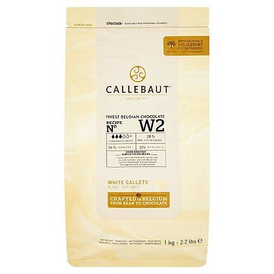 Callebaut  White Buttons 1Kg