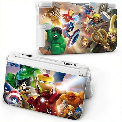 LEGO MARVEL Hard Case Cover For OLD STYLE NINTENDO 3DS XL - Brand New
