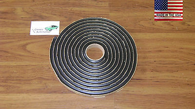 "OE Type Windshield Butyl Tape Install 3/8"" x15' Window Glass Front/Rear Gasket"