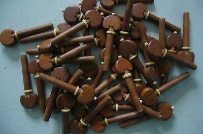 4/4 Violin Fittings 100pcs (25 Sets) Jujube pegs,beauty bedeck,INSTRUMENT PART