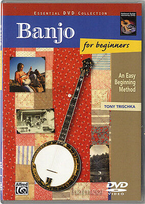 Banjo for Beginners Tony Trischka Learn How to Play DVD