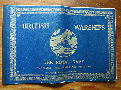 British Warships Wwii - The Royal Navy  1940 Completely Illustrated & Described