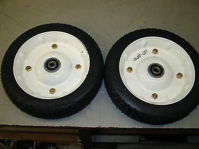 TORO SET OF 2 WHEELS PART# 100-2870 or 121-1380