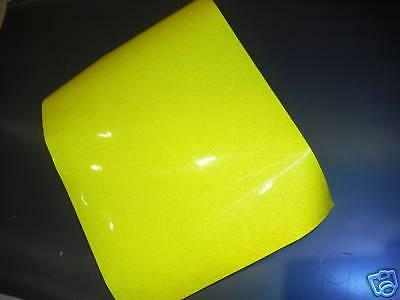 REFLECTIVE TAPE YELLOW A4 SHEET  S/AD BUY 3 GET 1 FREE