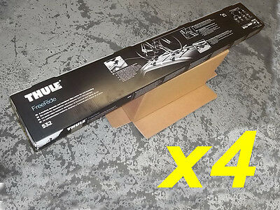 Genuine Thule FreeRide 532 Roof Mounted Bike Cycle Carrier FOUR PACK x4