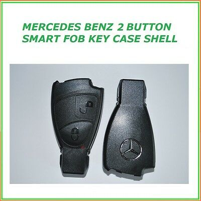 Mercedes Benz 2 Button Smart Key Case Fob Shell Cover Remote
