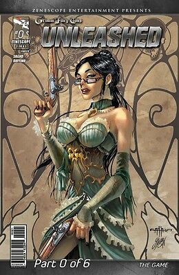 GRIMM FAIRY TALES: Unleashed #0 Giuseppe Cafaro Worldwide Shipping Unleashed00B