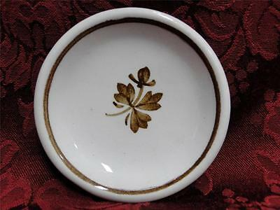 Meakin, Alfred Tea Leaf, Copper Tea Leaf Center: Round Butter Pat (s) AS IS