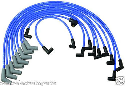 OEM NEW Ford Racing Blue 9mm Spark Plug Wire Set M12259C460 Big Block V8 429 460