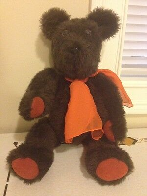Antique Vintage Plush Stuffed Teddy Bear Well Made Hand Made Poseable Very Old