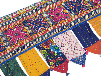 Decorative Kutch Window Coverings Valance Toran Door Hanging Tribal Tapestry