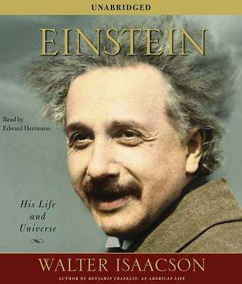 Einstein : His Life and Universe by Walter Isaacson (2007, CD, Unabridged)