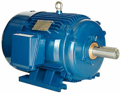 15 hp electric motor 254t 3 Phase 1800 rpm 208-230/460 severe duty 3 yr warranty