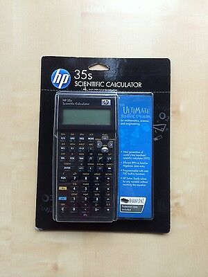 HP 35s Scientific Calculator & Case HP35S,Brand New,Free Post,Warranty, GST inc.