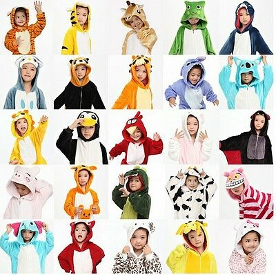 Kids Animal Onesie Children Kigurumi Pajamas Teenager Costume Unisex Cosplay