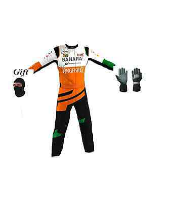 Force india Kart race suit 2014 style CIK/FIA level 2 (free gifts)