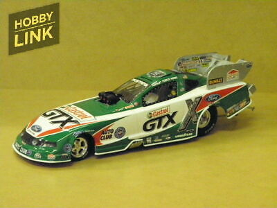 1:24 2010 MUSTANG FUNNY CAR CASTROL (ASHLEY FORCE) Action Racing Collectibles AA
