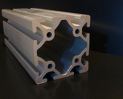 "FAZTEK - 15QE3030 - 3"" x 3"" Heavy Wall T-Slotted Extrusion - 49-5/8"" long"