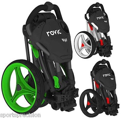 Clicgear Rovic Rv1C Carro De Golf 3 Ruedas, Golf Trolley 3 Wheels, 5 Colors
