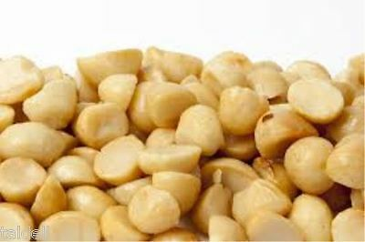 Fresh Broken Macadamia Nuts - 1Kg  Product Of Australia Bb Apr 2018
