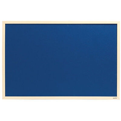 Felt notice board wooden frame - choice of 4 colours - 2 sizes,  pin board