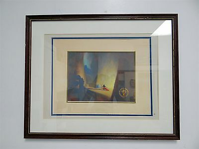 Disney Authentic Commemorative Lithograph from 1991 - Mickey in Fantasia